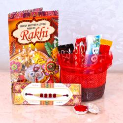 Rakhi Thread with Imported Chocolates