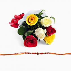 Red Colorful Rakhi Hamper
