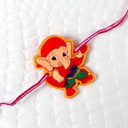 Rock Star Ganesha Rakhi For Kids