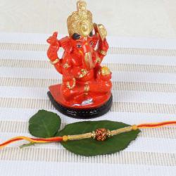 Siddhivinayak Ganesh idol on Chowki with - Canada