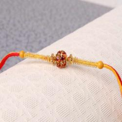 Simple Diamond Studded Rakhi