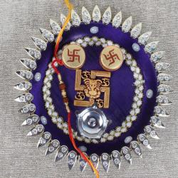 Swastika Rakhi Puja Thali