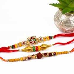 Three Devotional Rakhi