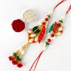 Traditional Bhaiya Bhabhi Rakhi
