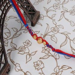 Trendy Thread Design Rakhi
