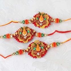Trio Kalash Designer Rakhi