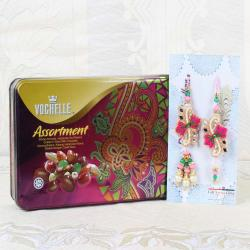 Vochelle Assortment Chocolate Box with Lumba Rakhi